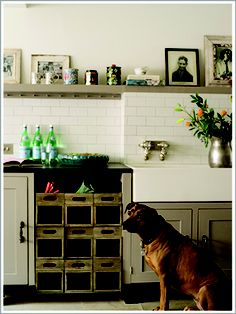 Kitchen designed by Eliza Barnes Architectural Salvage & Design