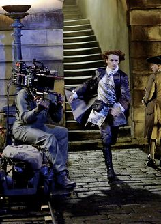 Sam Heughan from the book 'The Making of Outlander' | Outlander Season 2