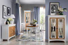 originální a mírně venkovský ráz ve Vaši jídelně ❤ #interiordesign #homedecor #style #homedecor #home #nábytek Loft, Table, Furniture, Home Decor, Products, Living Room, Dots, Decoration Home, Room Decor