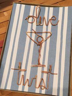 martini pushpins. thumbtacks. cork board pin.