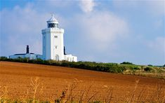 """The first-ever ship-to-shore radio transmission and ship-to-shore distress message were received at South Foreland Lighthouse in St Margaret's Bay, Dover. Now decommissioned, the lighthouse is also memorable for its mention in the sea shanty Spanish Ladies (""""We bore up for the South Foreland light..."""")"""