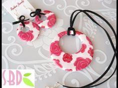 Tutorial Fimo: Parure Fiorita - Flowered jewel set