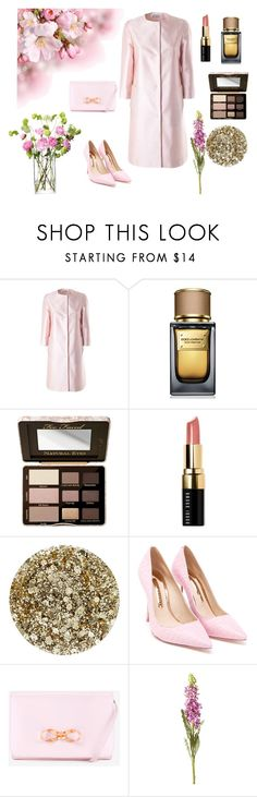 """Rosa. 11/12/2015"" by marciabackermendes ❤ liked on Polyvore featuring Alberto Biani, Dolce&Gabbana, Too Faced Cosmetics, Bobbi Brown Cosmetics, Smith & Cult, Sophia Webster, Ted Baker, OKA and LSA International"