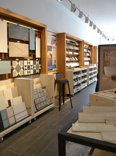 specialise in the creation, design and interior architecture of exquisite environments for the retail and corporate marketplace Showroom Design, Tile Showroom, Furniture Showroom, Interior Design Studio, Visual Merchandising, Topps Tiles, Kitchen Showroom, Tile Stores, Flooring Store