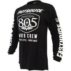 Fasthouse 805 Shield Black Jersey