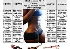Let's workout, let's get hot!
