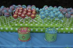 Owl Cake Pops and Smash Cakes from Night Kitchen Bakery! How cute?!