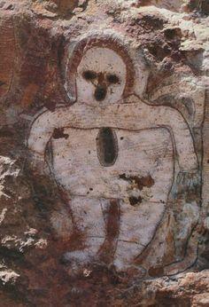 Aboriginal pictoglyph