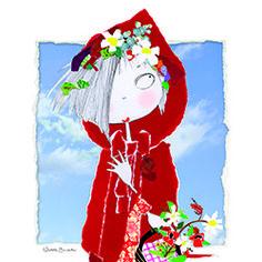 Caperucita roja va al bosque