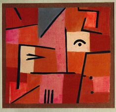 Beware of Red, 1940, Paul Klee