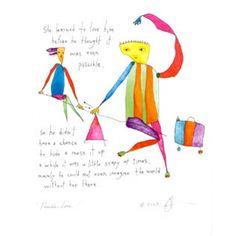 brian andreas   Brian Andreas print Possible Love