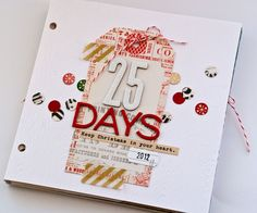#papercraft #scrapbook #decemberdaily    paper & cookies: It's December Daily Time!