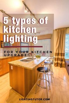 See what types of kitchen lighting are available and find kitchen lighting ideas for your remodel #kitchenlighting #kitchenremodel #kitchens #lighting #homedecor Interior Lighting, Home Lighting, Lighting Ideas, Types Of Lighting, Interior Decorating Tips, Design Your Kitchen, Kitchen Upgrades, Kitchen Lighting Fixtures, Under Cabinet Lighting