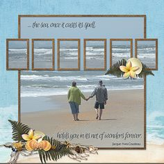 CT artist poki created this layout featuring Sherwood Studio digital scrapbooking kit ISLAND DREAM http://www.thedigichick.com/shop/Island-Dreams.html  and template THE PHOTO PROJECT - THE BIG PICTURE 2 http://www.thedigichick.com/shop/The-Photo-Project-The-Big-Picture-2.html
