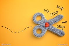 Crochet scissors