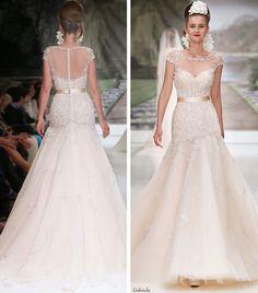 Glamorous Atelier Aimee Wedding Dresses 2015 Collection Part II: http://www.modwedding.com/2014/10/13/glamorous-atelier-aimee-wedding-dresses-2015-collection-part-ii/ #wedding #weddings #wedding_dress