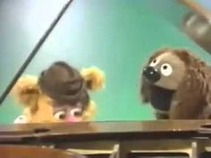 "Rowlf and Fozzie perform a duet of ""Country Gardens"" on The Muppet Show."