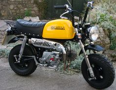 honda gorilla monkey bike