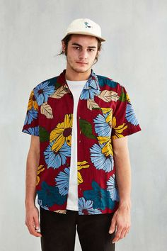 CPO Exploded Short-Sleeve Camp Shirt