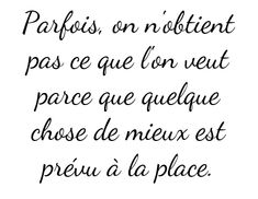 French quotes are amazing♥︎ Positive Mind, Positive Attitude, Best Quotes, Love Quotes, Inspirational Quotes, More Than Words, Some Words, Positiv Quotes, Words Quotes