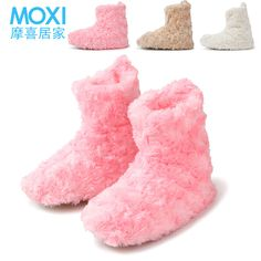 Free Shipping 2013 New At Home Thermal Cotton-Padded Women's Shoes Warm Cotton Indoor Package With Soft Shoes Home For Woman $7.42