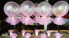 Balloons for party favor decorations