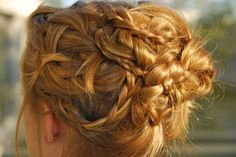 Love all of the braiding going on in this look! - www.Conair.com