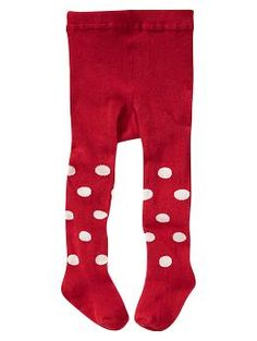 Knit dot tights | Gap - to go with the xmas dress?!