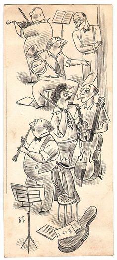 Play it again, Sam! Attempted Bloggery: Richard Taylor's Musicians bit.ly/1NoTSxt #RichardTayler #musicians Richard Taylor, The New Yorker, Art Blog, Musicians, Culture, Cartoon, Play, Image, Comic