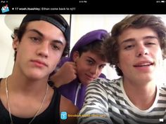 Ethan, Grayson, and Jack