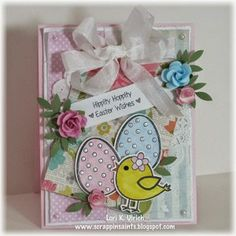 Created by Lori Ulrich using the Hippity Hoppity Easter Wishes stamp set along with the Hippity Hoppity Easter Wishes Sweet Cuts die from www.papersweeties.com!
