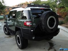 Ninja Turtle FJ Cruiser | Re: Army green pictures go here...