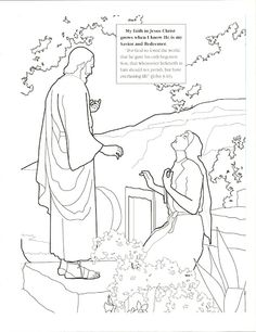 Coloring Pages Happy Clean Living Primary Lesson Easter Old Fashioned Fascinating