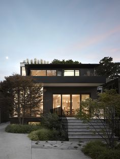 Dwell - Smart Tech Makes this Modern Home Ultra Energy Efficient