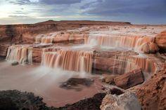 Chocolate Falls/Grand Falls, Arizona