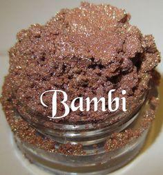 NEW Bambi Warm Taupe Mineral Eyeshadow Mica by lumikkicosmetics, $5.95