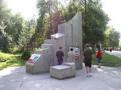 Earthquake Park, Anchorage - The park is the only remnant of the devastation from the 1964 Good Friday earthquake that measured 8.6 on the Richter scale.  The park honours those who died in the 1964 earthquake