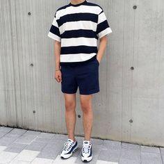 Trendy Ideas For Fashion Trends 2018 Menswear Korean Outfits, Short Outfits, Trendy Outfits, Cool Outfits, Fashion Outfits, Aesthetic Fashion, Look Fashion, Trendy Fashion, Fashion Trends