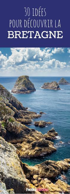 30 tips om Bretagne te ontdekken! Best Vacation Destinations, Europe Destinations, Best Vacations, Road Trip France, France Travel, France Europe, Travel Europe, Camping Cornwall, Brittany France
