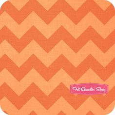 Orange Medium Tonal Chevron Yardage SKU# C380-61 - Fat Quarter Shop