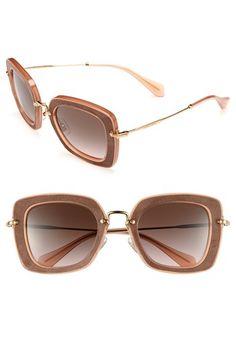 Miu Miu Retro Sunglasses available at #Nordstrom