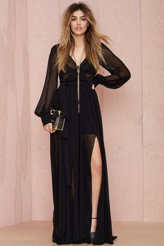 Go Your Own Way Chiffon Dress | Shop Clothes at Nasty Gal
