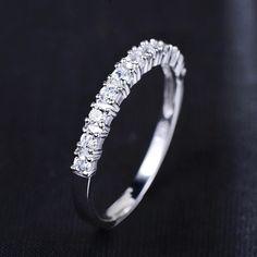 Mất tiền khuyến mãi bán buôn Romantic Forever Love siêu sáng bóng zircon 30% phần trăm mạ bạc nhẫn ladies'finger