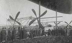 [1915] Airship propellers / Hélices de dirigeable