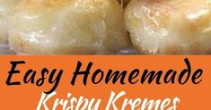 Easy Homemade Krispy Kremes Ingredients 3 tablespoons milk 3 tablespoons boiling water 1 teaspoon dry active yeast 8 ounces al. Bakery Recipes, Donut Recipes, My Recipes, Sweet Recipes, Cookie Recipes, Dessert Recipes, Favorite Recipes, Delicious Donuts, Delicious Desserts