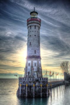 Lindau Lighthouse by Çağlan Çelebi, via 500px