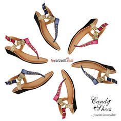 31d2b526 Estrella de sandalias #Tucalzado.com #Sandalias #Zapatos #Moda #Rojo  #Tendencias #Azul