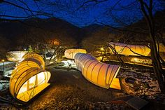 ArchiWorkshop Unveils Gorgeous 'Glamping' Tents Shaped Like Do...