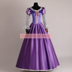 Tangled Rapunzel Princess Cosplay Costume
