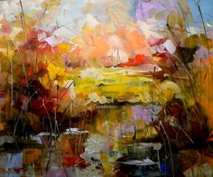 Lyubomir Kolarov 1959 - Bulgarian Abstract painter | TuttArt@ | Pittura * Scultura * Poesia * Musica |